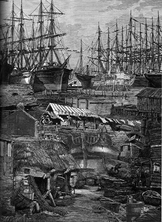 Os navios enterrados sob as ruas de São Francisco