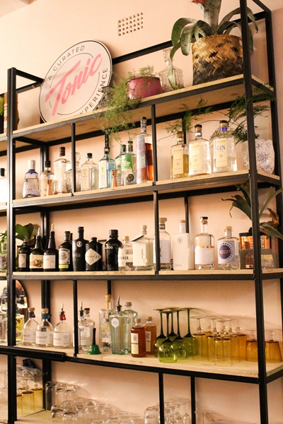 Linden's Tonic Gin Bar has over 40 different gins on offer.