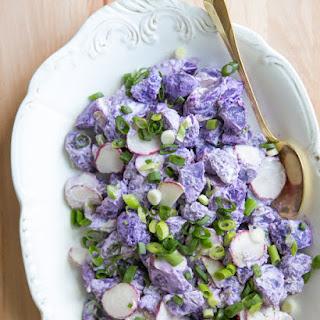 Purple Potato Salad.