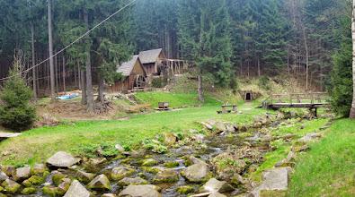 Photo: skanzen Zlatorudné mlýny se nachází v malebném údolí Ztracených štol. Kdysi se tu v říčce Olešnici těžilo zlato