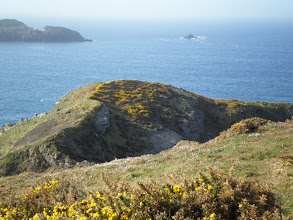 Photo: From Solva to St David's (bkgrd: Green Scar and Black Scar)