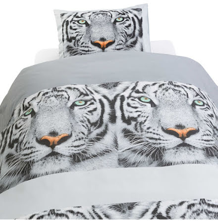 Bäddset - Påslakan Tiger