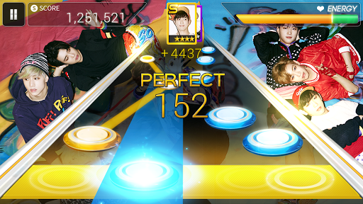SuperStar JYPNATION  gameplay | by HackJr.Pw 15