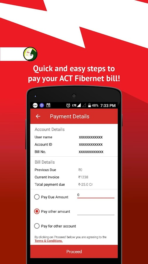 Ubercart Invoice Template Word Act Fibernet  Android Apps On Google Play Rent Security Deposit Receipt Pdf with Autozone Battery Warranty No Receipt Pdf Act Fibernet Screenshot Template Invoice Uk Excel