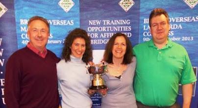 Photo: Swiss Teams Glyn Liggins, Sarah Waddington Joe Fawcett, Gillian Fawcett