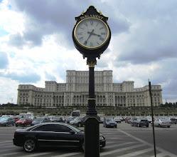 Photo: Parlamenttitalo Unirii -bulevardilta päin