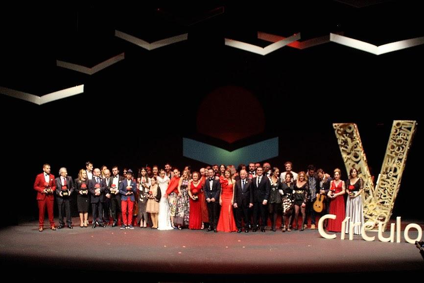 Galardonados, invitados y autoridades en la gala de los Premios Círculo Rojo.