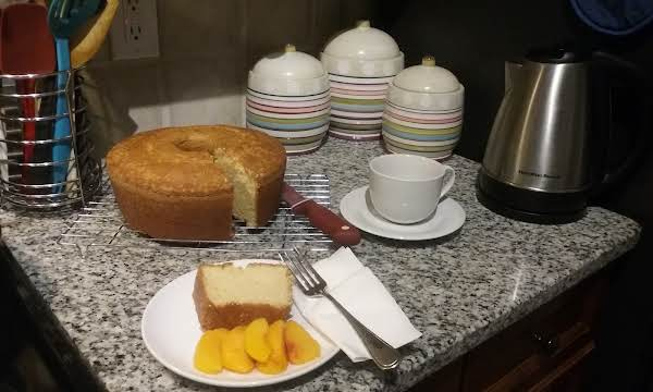 This Cake Is Called A, (one Bowl Pound Cake).