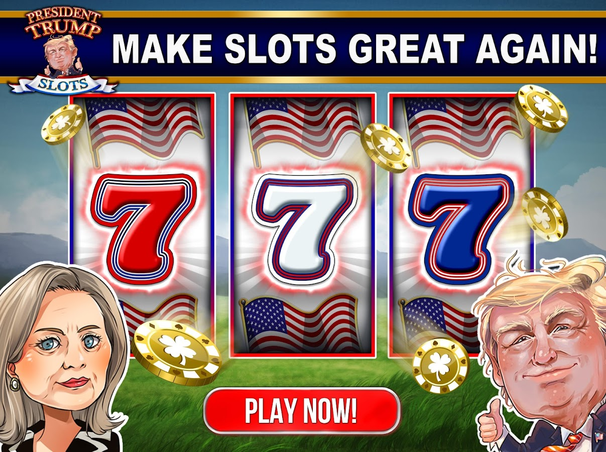 President Trump Slot Machines with Bonus Games!- screenshot