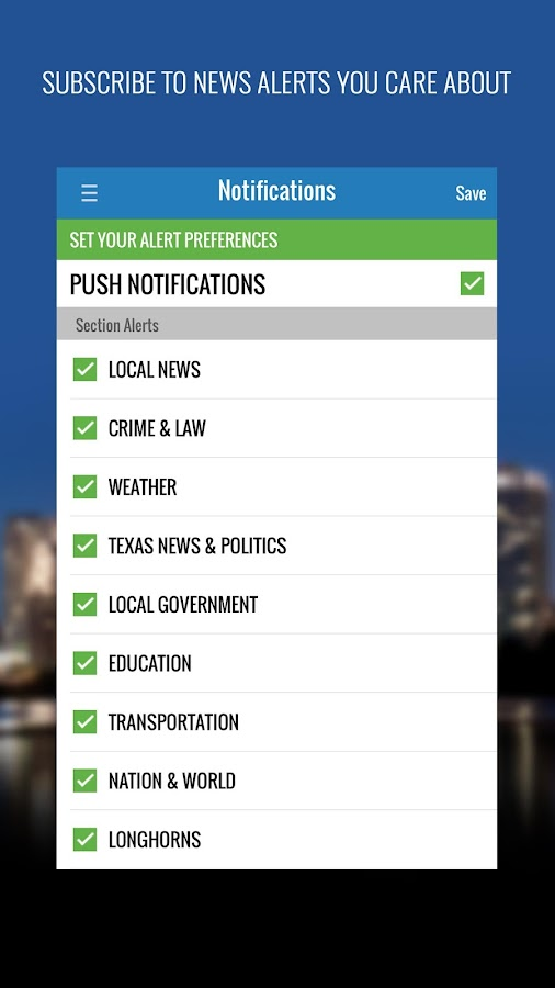 Statesman Live- screenshot