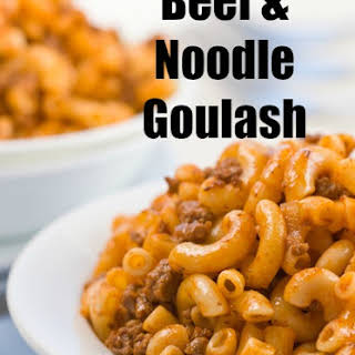 Ground Beef Goulash Stewed Tomatoes Recipes.