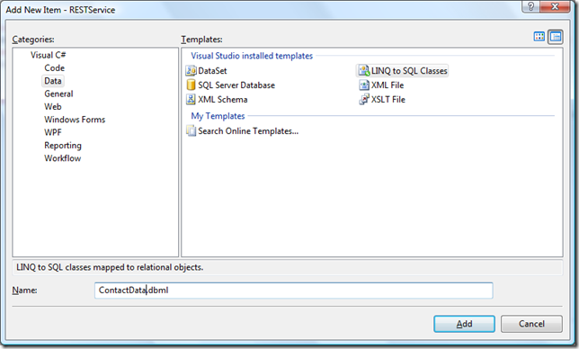 Add DBML File