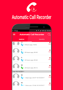 Real call recorde pro - náhled