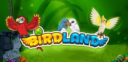 Play with, take care & feed  pets in your own Bird Land Paradise!