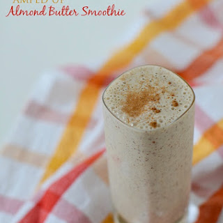 Boosted Banana Almond Butter Smoothie