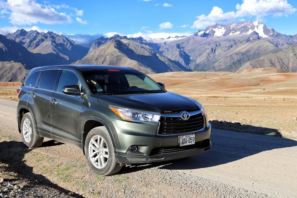 jak wypożyczyć samochód, Peru, w drodze