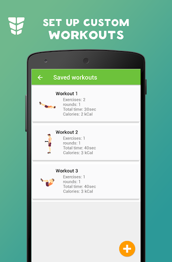 Abs workout Be Stronger Six Pack screenshot