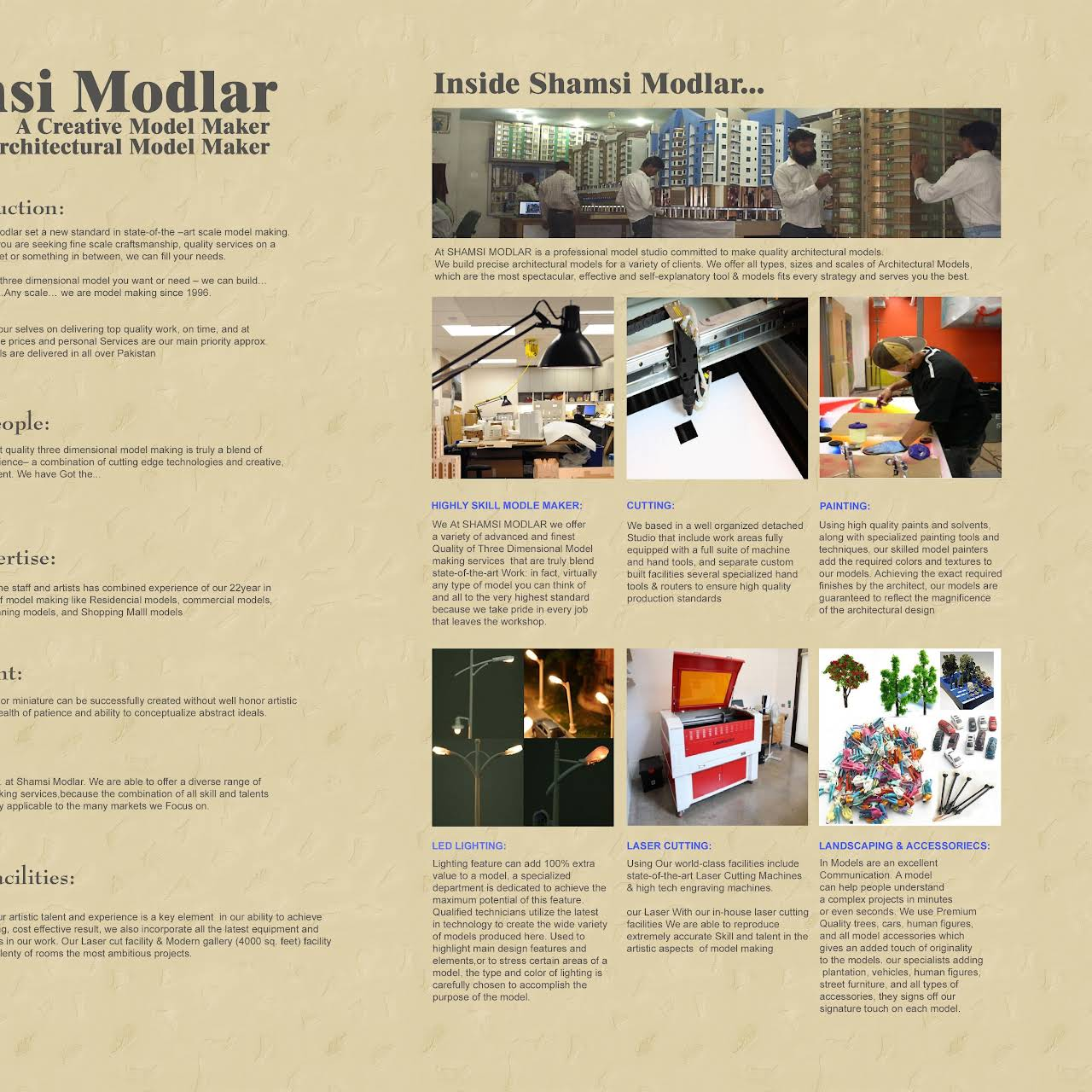 SHAMSI MODLAR - Architectural And Engineering Model Maker in