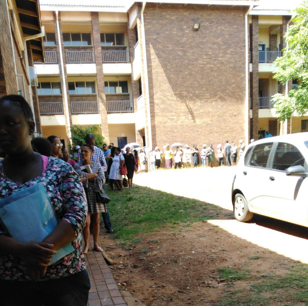 Officials 'attacked' as irate parents queue for places at Gauteng schools - SowetanLIVE