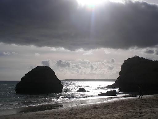 Mar prateado