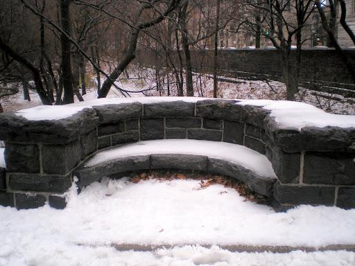 Neve em central Park, Nova Iorque