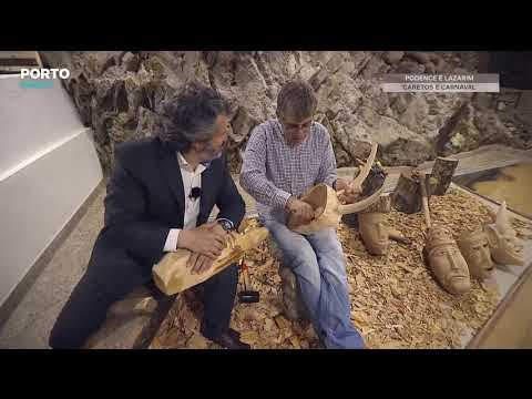 Vídeo - Caminhos da História - Podence e Lazarim, Caretos e Carnaval - Porto Canal