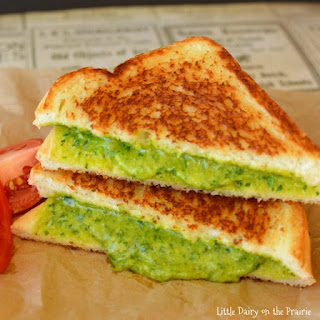 Grilled Cheese & Spinach Sandwich
