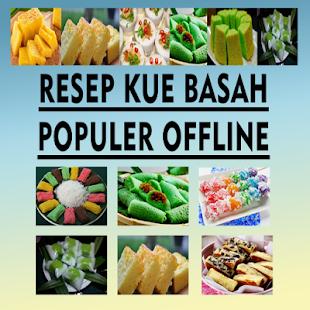 Resep Kue Basah Offline - náhled