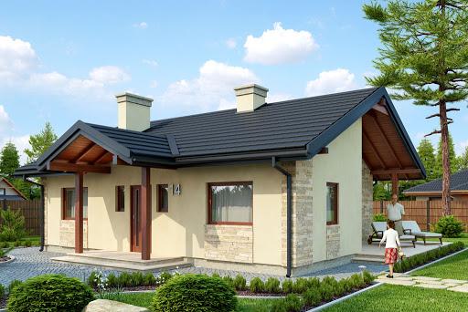 projekt domu Serock