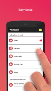 WhatsLock - Applock for Privacy and Security 2018 Capture d'écran
