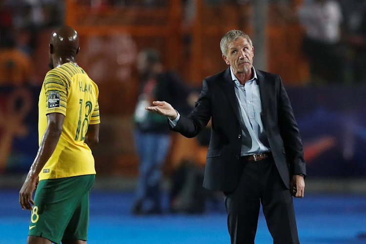South Africa coach Stuart Baxter at Cairo International Stadium, Cairo, Egypt - July 10, 2019.