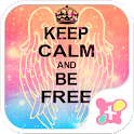 Theme-Keep Calm and Be Free- icon