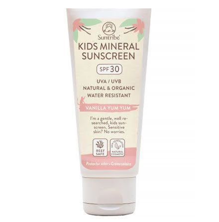 Suntribe All Natural Mineral Kids Vanilla Sunscreen SPF 30 (100 ml)