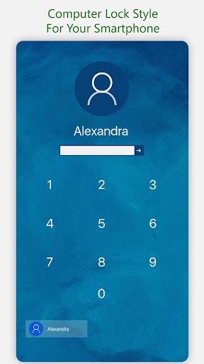 Lock Screen For Computer Launcher screenshot 2