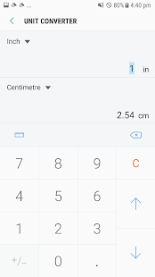 Samsung Calculator- screenshot thumbnail