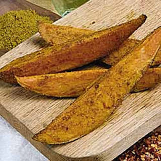 Curried Sweet Potato Wedges.
