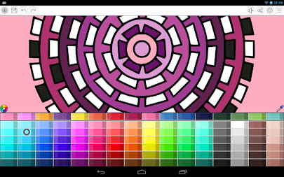 Mandalas coloring pages (+200 free templates) APK screenshot thumbnail 2