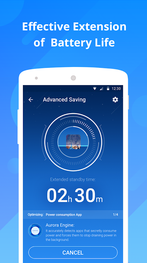 DU Battery Saver - Battery Charger & Battery Life- screenshot