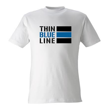 T-shirt Thin Blue Line INT VIT
