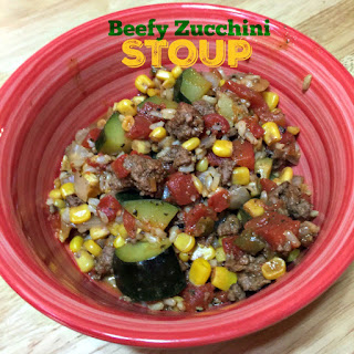 One Pot Beefy and Zucchini Stoup