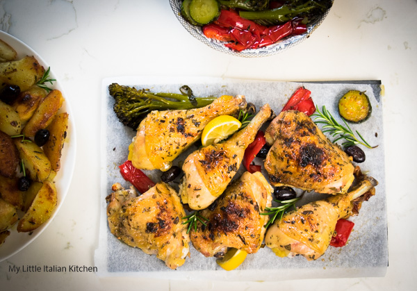 Herb-Roasted Chicken And Vegetables Recipes — Dishmaps