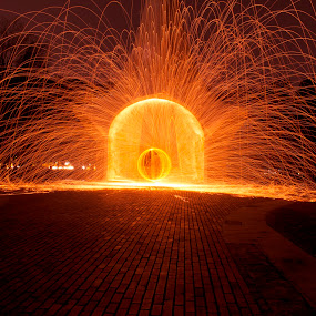 by Ady Putra - Abstract Light Painting ( fireworks, fire, new year, dipawali, diwali, 2014 )