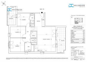 Appartement 4 pièces 82,06 m2