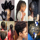 Braid Hairstyle Kids & Woman