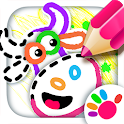 Old Macdonald had a farm 🚜 Drawing games for kids icon
