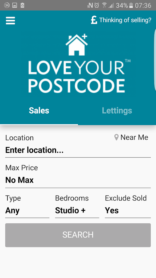 Love Your Postcode- screenshot