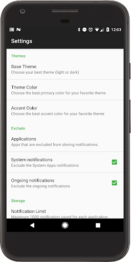 Recent Notification 2.5.0 screenshots 4