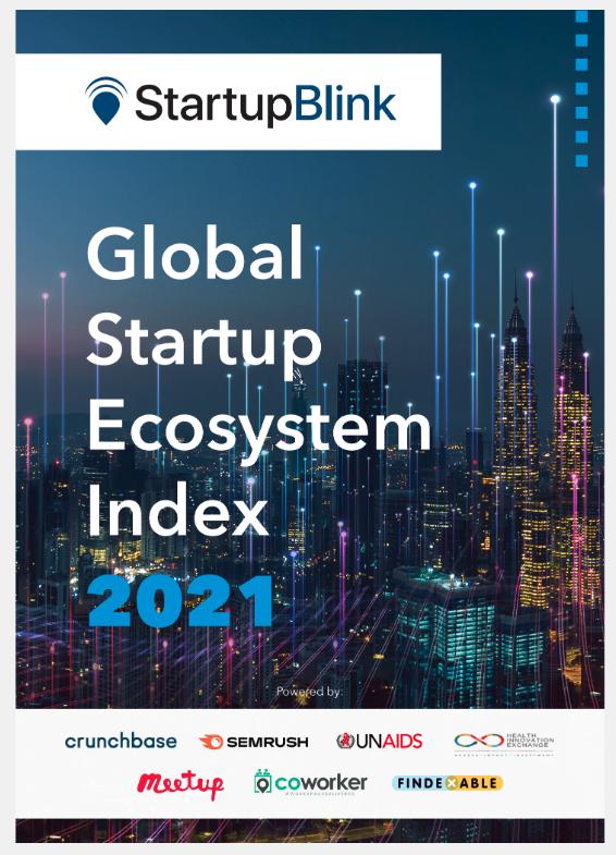 Startup Blink global startup ecosystem report cover
