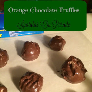 Orange Chocolate and Biscoff Double Chocolate Truffles