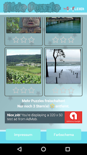 Slide Puzzle Schiebepuzzle- screenshot thumbnail
